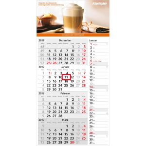 Werbemittel Einblatt-Monatskalender Konzept 4 Post Complete